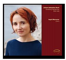 Ingrid Marsoner Diskographie Buttom zur CD mit Johann Sebastian Bach Goldbergvariationen