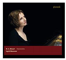 Ingrid Marsoner Diskographie CD Cover Mozart Gramola