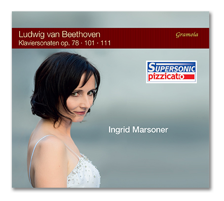 Ingrid Marsoner New CD Release Buttom to the Album Beethoven Sonatas Op.78, Op.101, Op.111